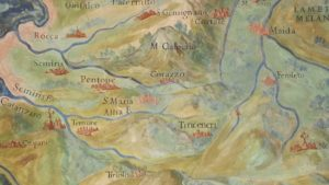 Mappa Abbazia di Corazzo