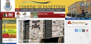 Panettieri il sito del comune
