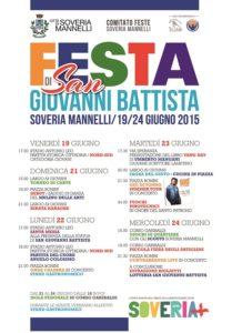 S. Giovanni 2015 Manifesto