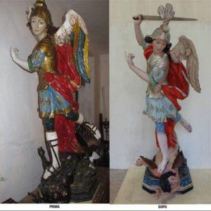 Statue restaurate San Tommaso