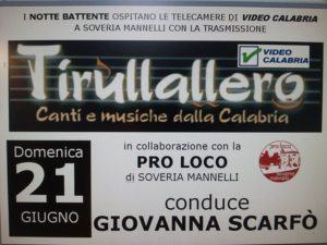 Tirullalero Video Calabria Notte Battente
