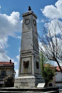 Colonna Piazza dei Mille Soveria Mannelli