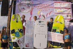 IL podio assoluto maschile. Da sx, Olly Bridge, Maxime Nocher e Blazej Ozog