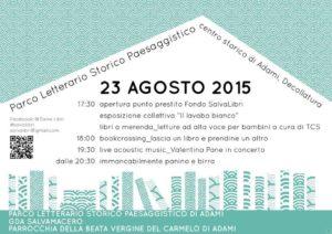 Adami Parco Letterario 23 agosto