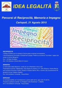 Carlopoli idea legalita manifesto