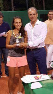 Mascaro premia tennis