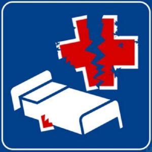 l'ospedale si è rotto
