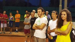 pubblico tennis Torneo Ferragosto