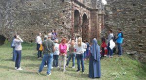 Abbazia di Corazzo Carlopoli visita gruppo da Catania