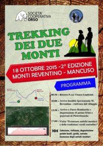 Trekking dei deu monti Reventino e Mancuso