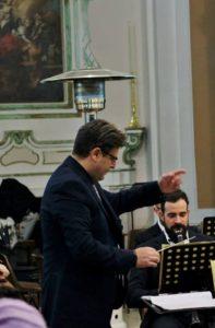 Il maestro Francesco Caruso