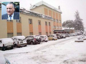 Ospedale Reventino-Soveria Mannelli-neve-pronto soccorso -Giovanni Paola