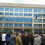 comitato strada davanti sede provincia Catanzaro