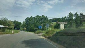 strada Medio Savuto passa nel Reventino piloni