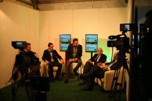 Fieragricola interno studio tv
