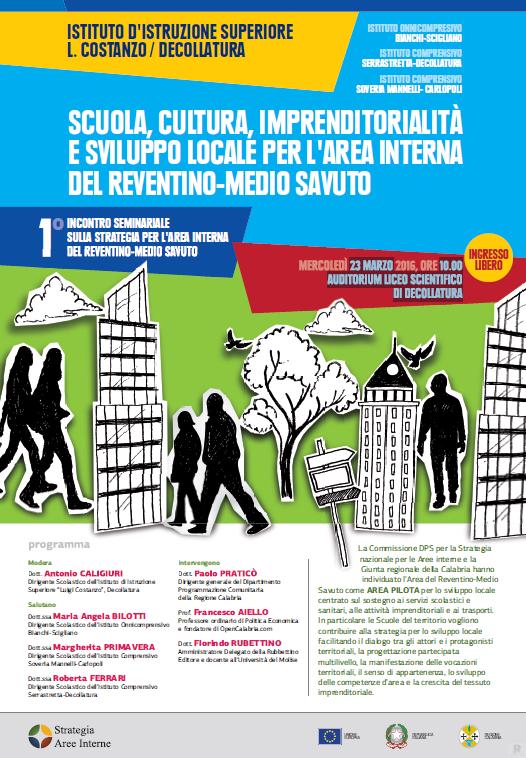 Manifesto aree interne Liceo