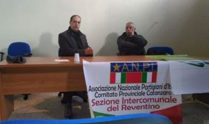 foto ANPI sezione Decollatura Reventino ritaglio