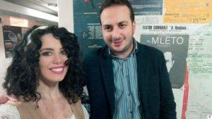 Falvo con Simona Corino