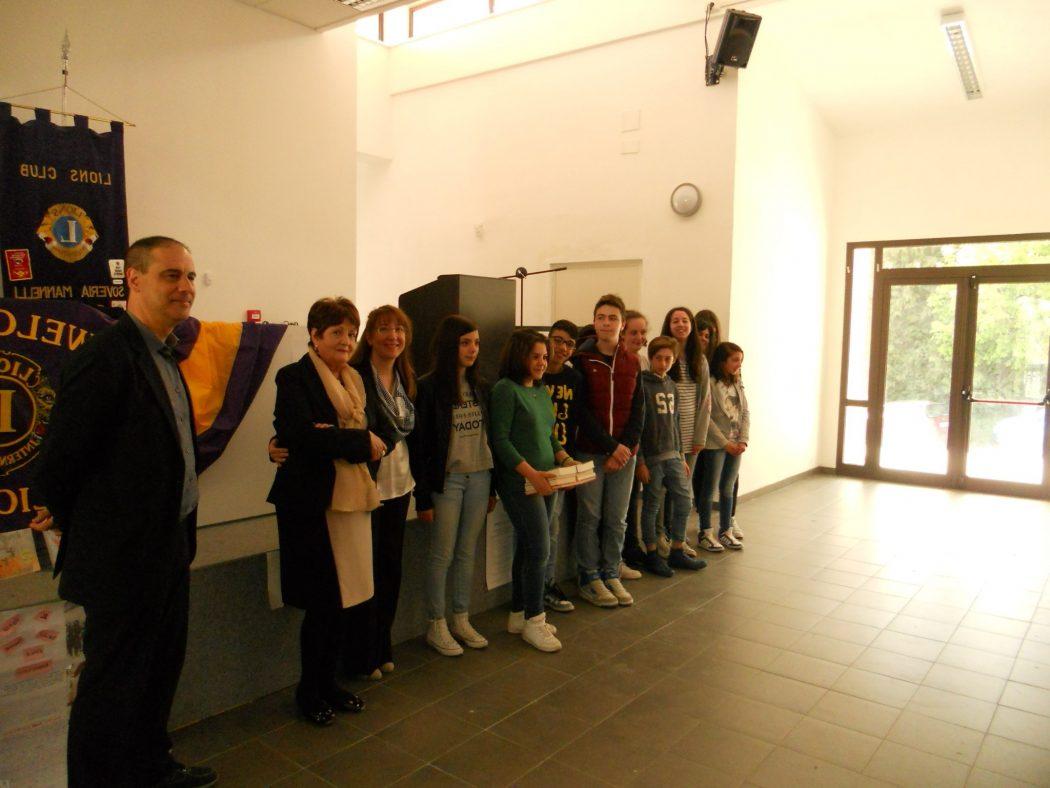 borsa di studio Rosario Rubettino Lions Club Soveria Mannelli