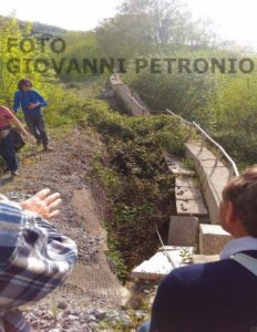 ferrovia tratta frana Coenza