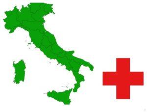 italia e croce rossa