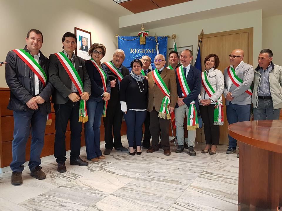 Incontro sindaci Savuto alla Regione