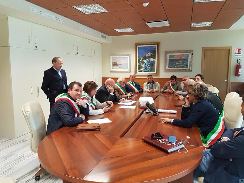 Incontro sindaci del Savuto alla Regione