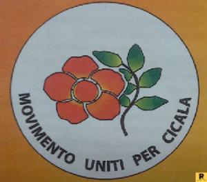 Movimento Uniti per Cicala logo lista