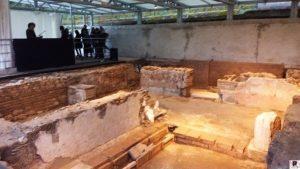 a scavi parco archeologico Tiriolo
