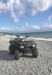 quad spiaggia Falerna