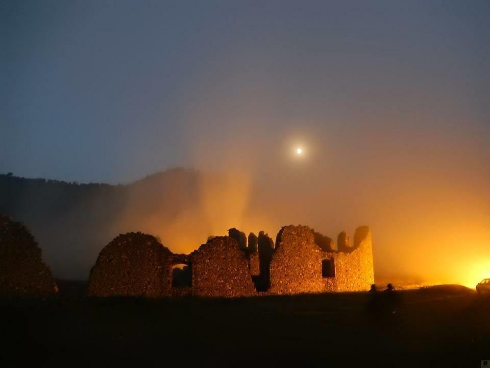 abbazia di corazzo_in notturna_una montagna di pace