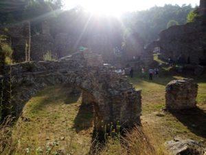 Abbazia di Santa Maria di Corazzo raggio di sole