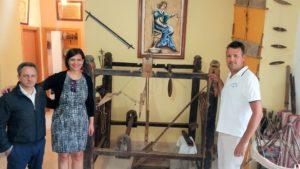 Cattaneo a Carlopoli visita il museo