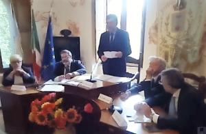 Consiglio comunale Soveria Mannelli presidente Angelo Sirianni