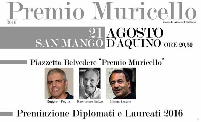 San Mango Aquino Premio Muricello 2016