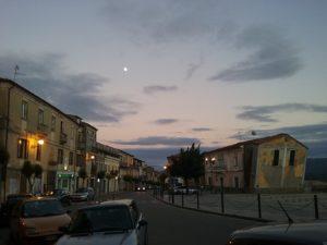 Corso e Piazza di sera